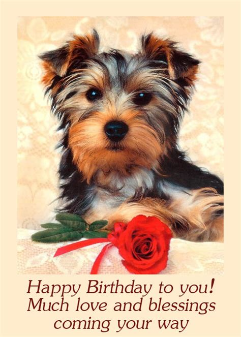 free of with dogs birthday cards with dogs