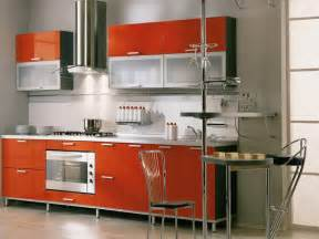 kitchen contemporary red kitchen cabinet painting color