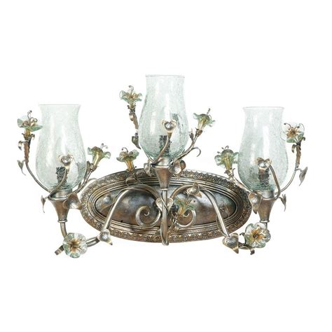 yosemite home decor vanity yosemite home decor morning glory collection 3 light