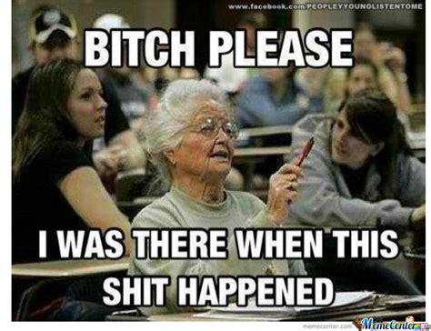 Old School Meme - old school grandma by lester88 meme center
