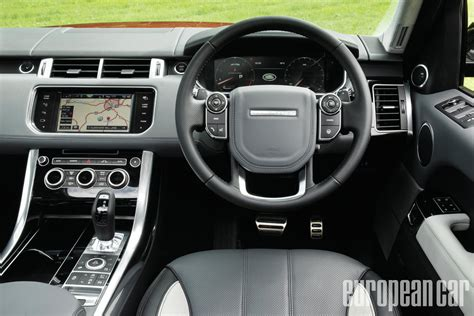 land rover sport interior 2014 land rover range rover sport european car magazine