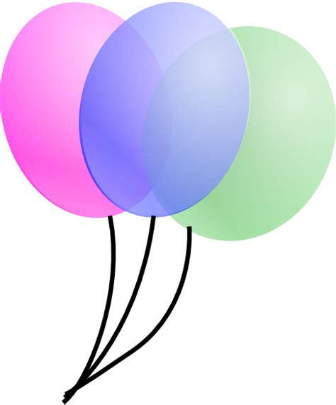 Balloons clip art at clker com vector clip art online royalty free amp public domain