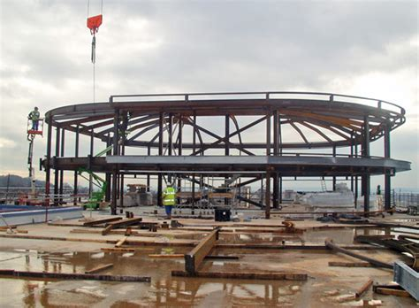 Post Office Marco Island by Steel Delivers On Post Office Site Newsteelconstruction
