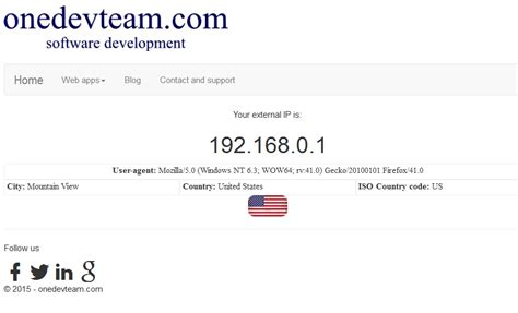 External Ip Address Lookup Onedevteam Software Development Onedevteam Software Development