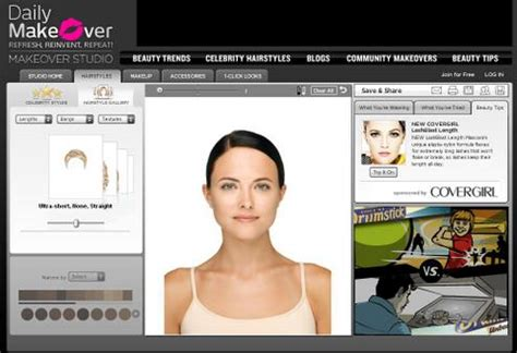 Hairstyle Preview Software by Makeover Solutions Daily Makeover Review