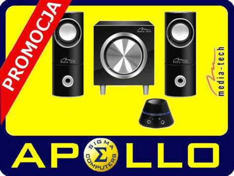 Promo S Set 2 In 1 promo głośniki 2 1 media tech mt3325 speakers set