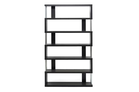 contemporary living room accent display stand cabinet bookcase open shelves wood ebay barnes dark brown six shelf modern bookcase interior express