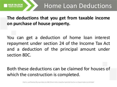 income tax housing loan interest interest on housing loan under section 24 revised income tax exemption calculator for interest