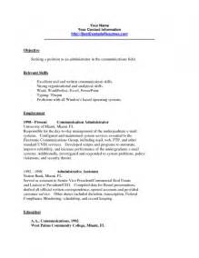 Resume Communication Skills List Exles Of Communication Skills For Resume Resume Template Exle