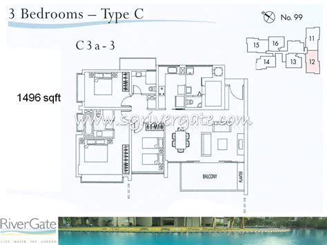 rivergate floor plan rivergate floor plan site plan rivergate singapore condo