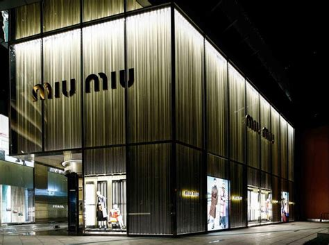 Furniture For Studio Apartments miu miu store in shanghai by roberto baciocchi