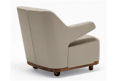 cozy bicolored small armchair giorgetti milia shop