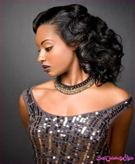 Black Hairstyles For Prom by Black Prom Hairstyles Bestcelebritystyle
