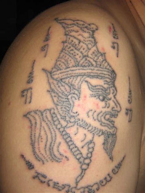 needle tattoo kata cherish cherish me sak yant tattoo rules