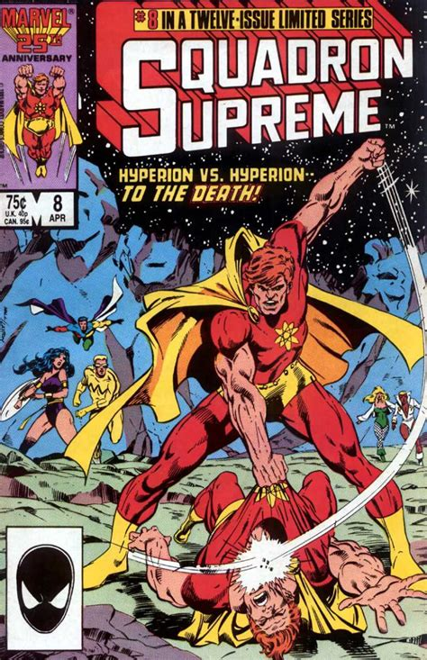 squadron supreme squadron supreme 8 the clash issue