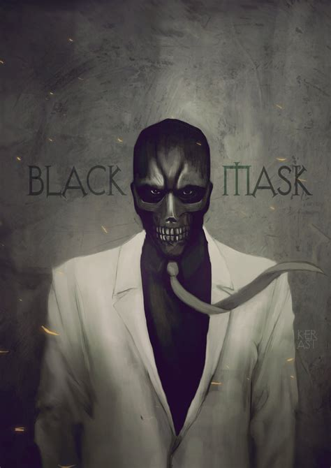 Masker Black Mask black mask by kerast on deviantart