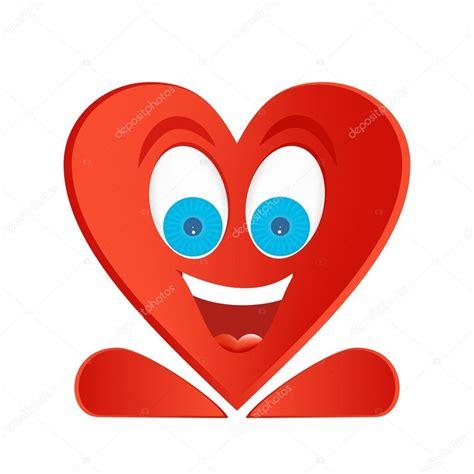 imagenes corazon alegre coraz 243 n alegre figura rojo con ojos azules sonrisa con