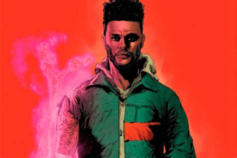 The Weekend Readthe Weekend Readfoto Thinkweb by The Weeknd X Marvel Announce Starboy Comic Book At Nycc
