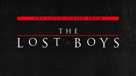 the lost soundtrack the lost boys cry soundtrack