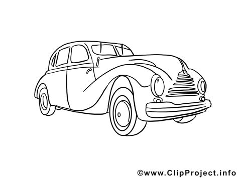 Auto Malvorlage by Ausmalbild Auto