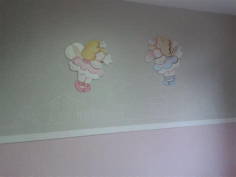 Superbe Chambre Petite Fille Rose #3: Fresque+murale+avec+sticker+pour+petite+fille+desmursenchantes.jpg