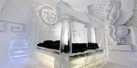 ice hotel quebec bathroom guest blog quebec s ice hotel travelzoo canada
