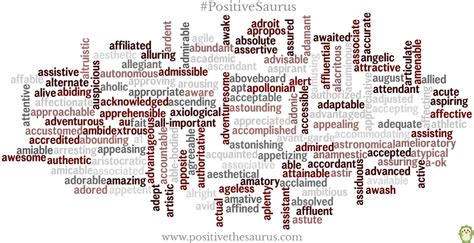 Adjectives That Begin With The Letter A