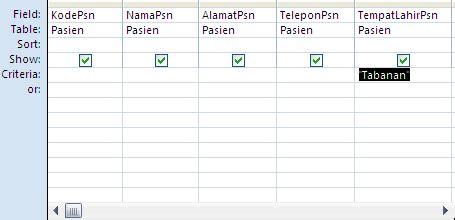 untuk membuat query pada objects dipilih membuat query pada access 2007 gravis tech