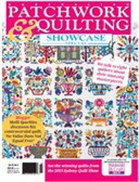 Patchwork And Quilting Magazine Australia - products