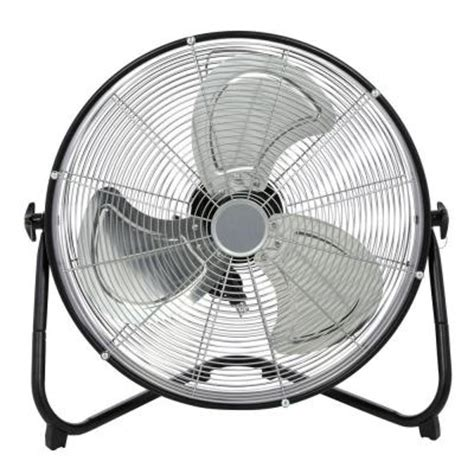 20 in high velocity shroud floor fan hf20 t3 the home depot