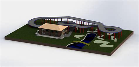 go design go kart track designs amusement construction