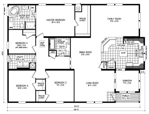wide mobile home floor plans clayton homes