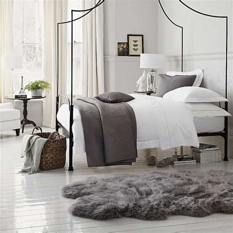 design bedroom rugs 15 ideas to decorate with a sheepskin rug custom home design