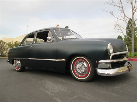 1950 ford shoebox custom 2 door sedan beautiful ca car v 8