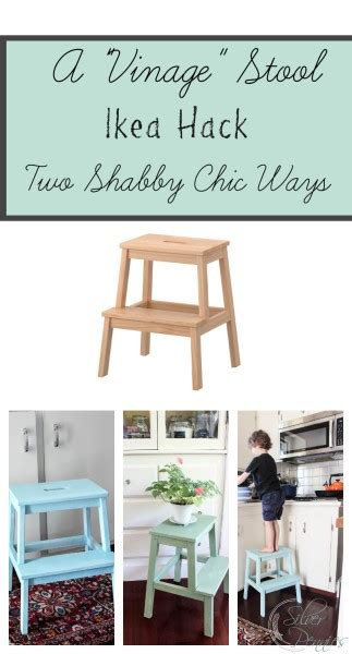 kitchen helper stool ikea ikea hack creating a vintage stool finding silver pennies