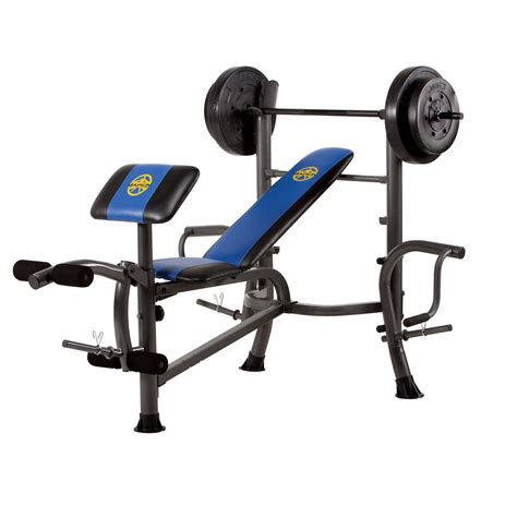 marcy fitness bench marcy fitness 80 lb weight set bench with butterfly