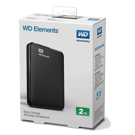 Harddisk Wd 2tb western digital 2tb wd elements portable external drive