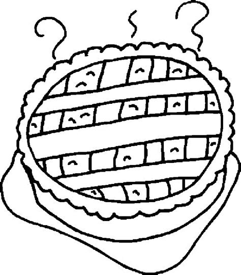 free images of a pie coloring page coloring home