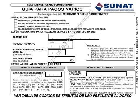 guia de pagos varios 2016 guia pagos varios 1662 by benalcal issuu