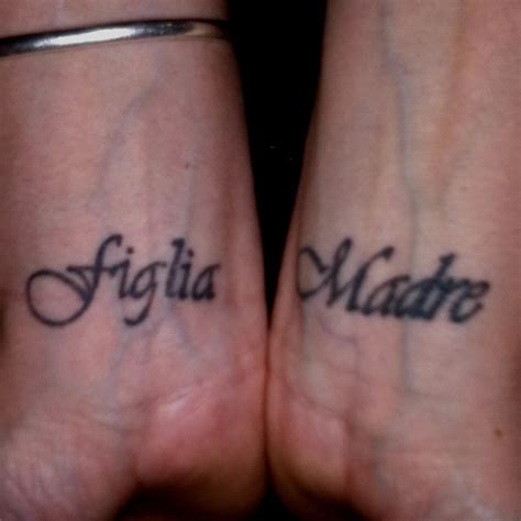 tattoo love in italian my newest tattoos mother daughter in italian things i