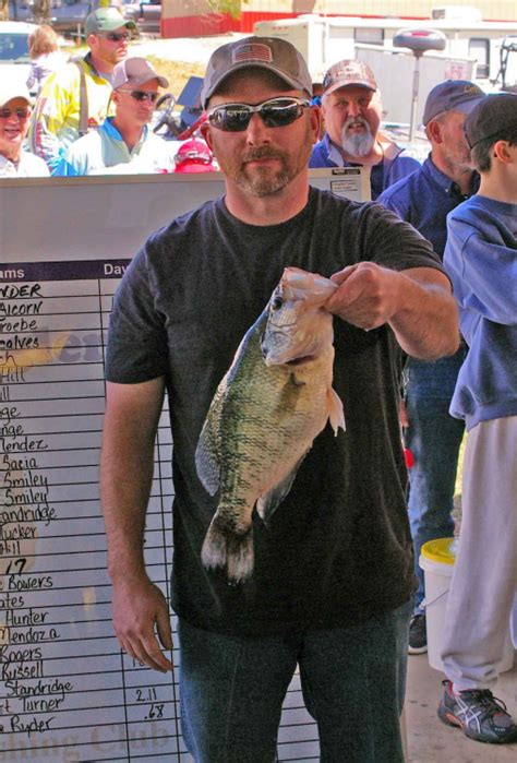 crappie anglers  texas  annual crappiefest  lake fork