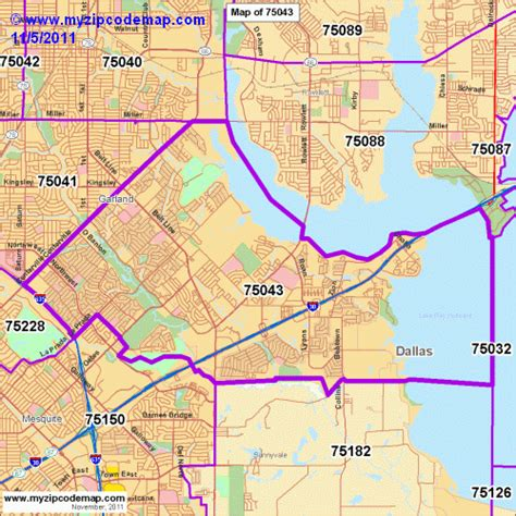 garland texas zip code map zip code map of 75043 demographic profile residential housing information etc
