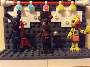 Lego five nights at freddy s stage by kittycatnoodles on deviantart