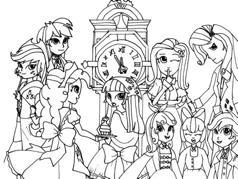 equestria coloring pages equestria coloring pages best coloring pages for