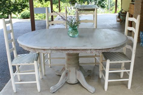 primitive proper weathered gray dining table how