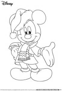 Disney christmas coloring page for kids print this color page