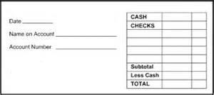 generic deposit slip template pnc bank deposit slip printable bank savings accounts