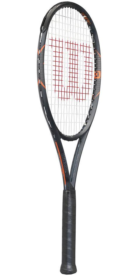 Wilson Burn 95 Black Orange Raket Racket Tenis Tennis Original 2017 wilson burn fst 95 tennis racket frame only tennisnuts