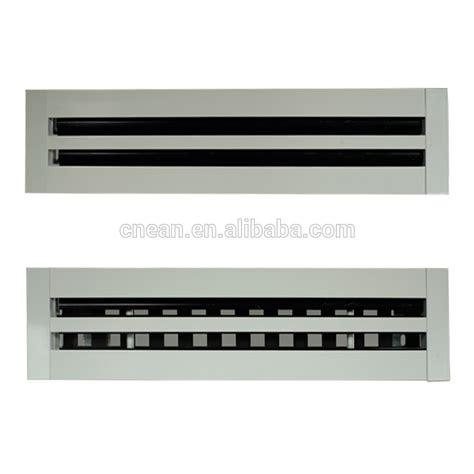 return air linear diffuser hvac aluminum slot diffuser linear air grille buy