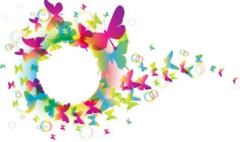 Sticker On Wall Decor sticker con farfalle colorate livingdeco